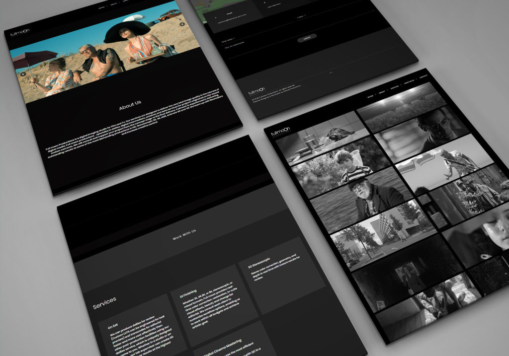 Fullmoon Productions | Web Development